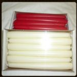 "10"" TAPERED CANDLES X 12 out of stock"